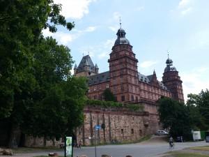 paleis Johannisburg in Aschaffenburg