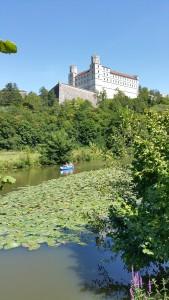 Uitzicht op het klooster van Eichstatt