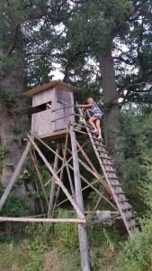 de uitzichttoren van Nußhausen