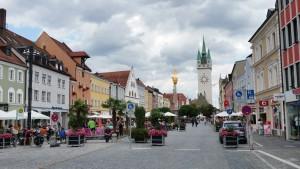 even passagieren in Straubing