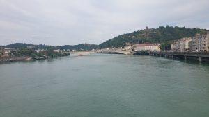 Uitzicht op de Rhône