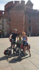 Ons eindpunt van de rit: Perpignan