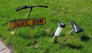 humor in De Achterhoek langs de R1 fietsroute