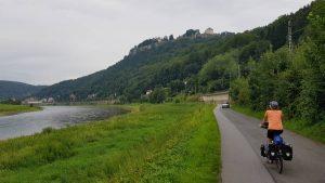 En verder langs de Elbe richting Tsjechië