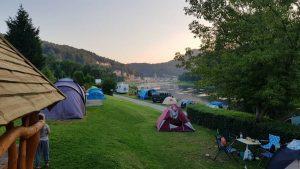 Fenomenaal uitzicht vanaf de camping Konigstein