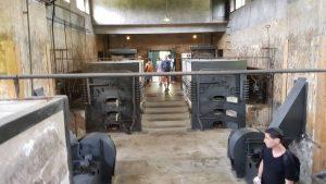 het crematorium van Theresiënstadt
