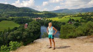 Prachtige vergezichten langs rivier De Ohre in Tsjechie