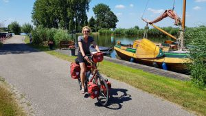 fietsvakantie in Nederland met de route van Benjaminse naar Rome