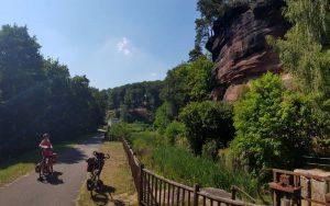 De fraaie route langs het Marne- Rhin canal