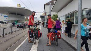 Bij de Zwitserse grensovergang in Bazel