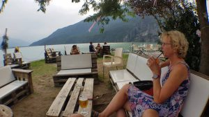 Loungen aan het Lago di Mezzola