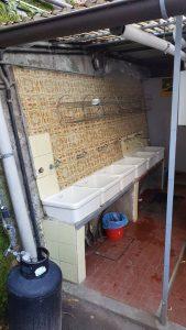 het sanitair van Camping Europa in Menaggio
