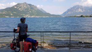 Afscheid van het lago di Lecco
