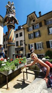 het centrum van Solothurn