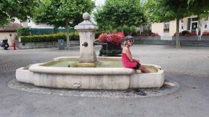 ff verkoeling zoeken in de fontein