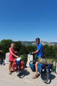 Uitzichtpunt in Valence