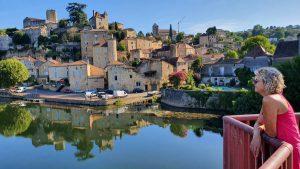 uitzicht op Puy-l'Èvêque
